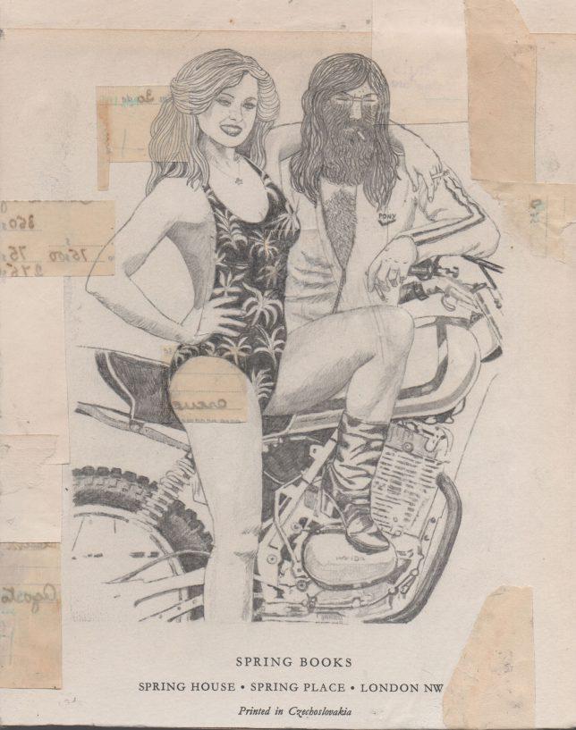 Jan Schmelcher, Spring Books, 2019, Bleistift auf Papier, 25 x 20 cm