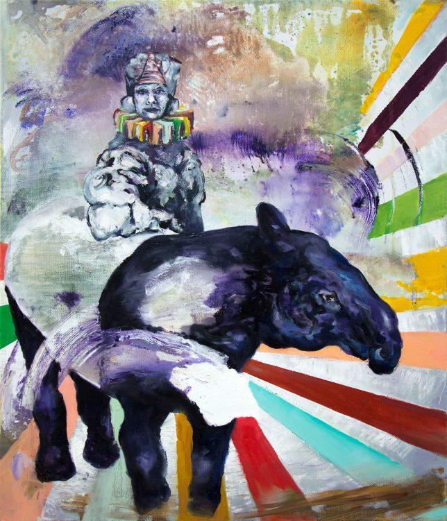 Florian Pelka, Terpentin, 2017, oil on canvas , 70 x 60 cm