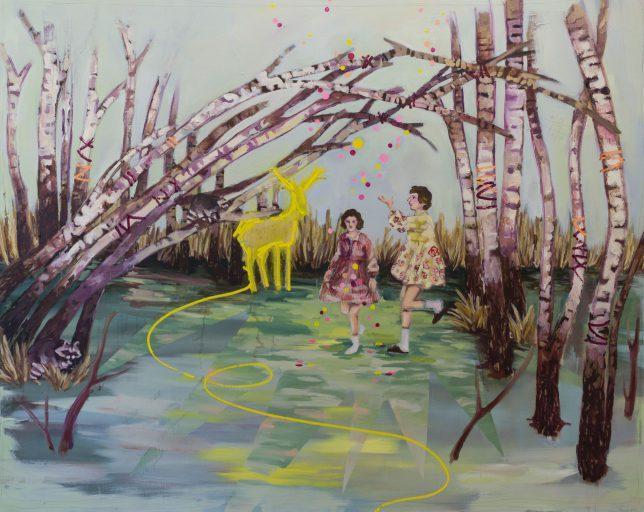 Ekaterina Leo, Lucid Dreaming, 2018, Öl auf Leinwand, 140 x 170 cm
