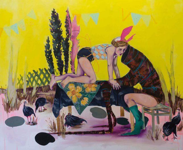 Ekaterina Leo, Big Dreams, 2018, Öl auf Leinwand, 175 x 210 cm