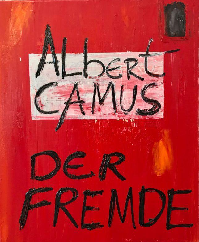 Philip Grözinger, Der Fremde, 2020, Öl auf Leinwand, 60 x 50 cm