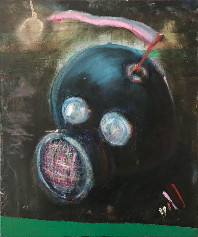 Philip Grözinger, I am Going Down To The See, 2020, Öl auf Leinwand