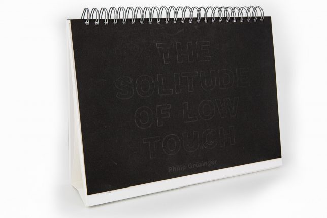 Philip Grözinger, The solitude of Low Touch, 2020, 24 x 31,5 cm