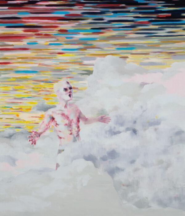 Tjark Ihmels, Der richtige Platz, 2020, Öl auf Leinwand, 140 x 120 cm