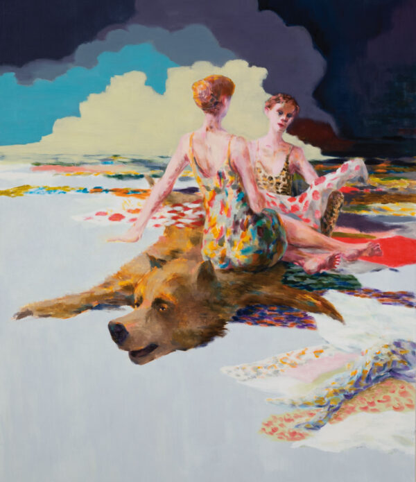 Tjark Ihmels, Stoff, 2020, Öl auf Leinwand, 140 x 120 cm