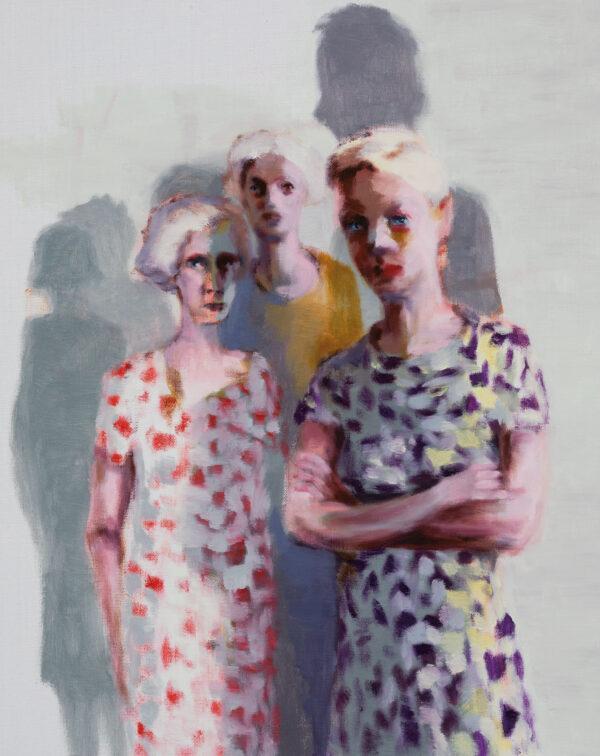 Tjark Ihmels, Die Gang, 2020, Öl auf Leinwand, 50 x 40 cm
