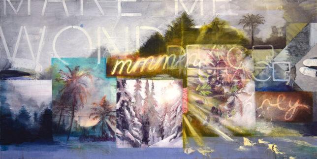 Tessa Wolkersdorfer, Shadescape Wonder, 2021, 50 x 100 cm